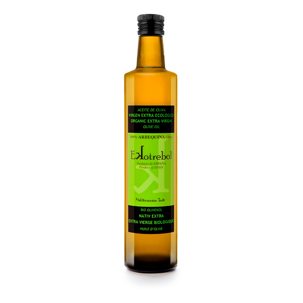Aceite-de-Oliva-extra-virgen-arbequina-Ekotrebol-Bio-Vegano-500ml