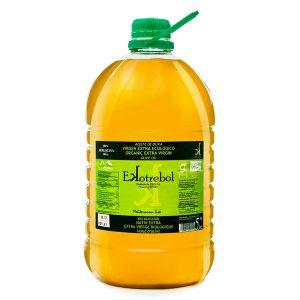 Aceite-de-Oliva-extra-virgen-arbequina-Ekotrebol-Bio-Vegano-garrafa-5L