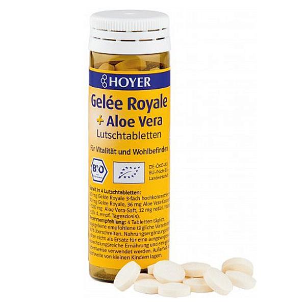 Comprimidos Aloe Vera + Jalea Real 60un, 30g_ok