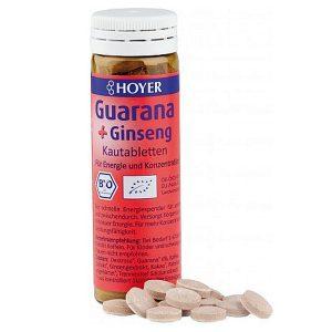 Comprimidos Guaraná + Gingseng 60un, 30g_ok