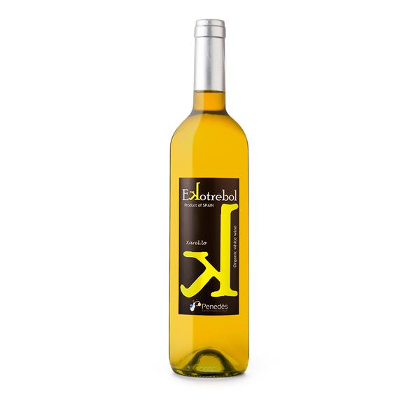 Vino-blanco--Xarel.lo-Ekotrebol,-Bio-Vegano