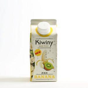 Zumo kiwi y plátano