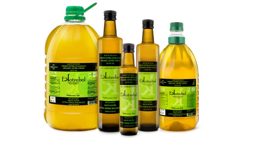New Range Olive Oil Ekotrebol