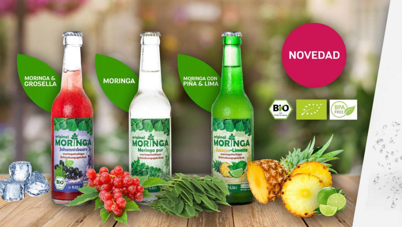 Refrescos ecológicos de Moringa en EKOTREBOL