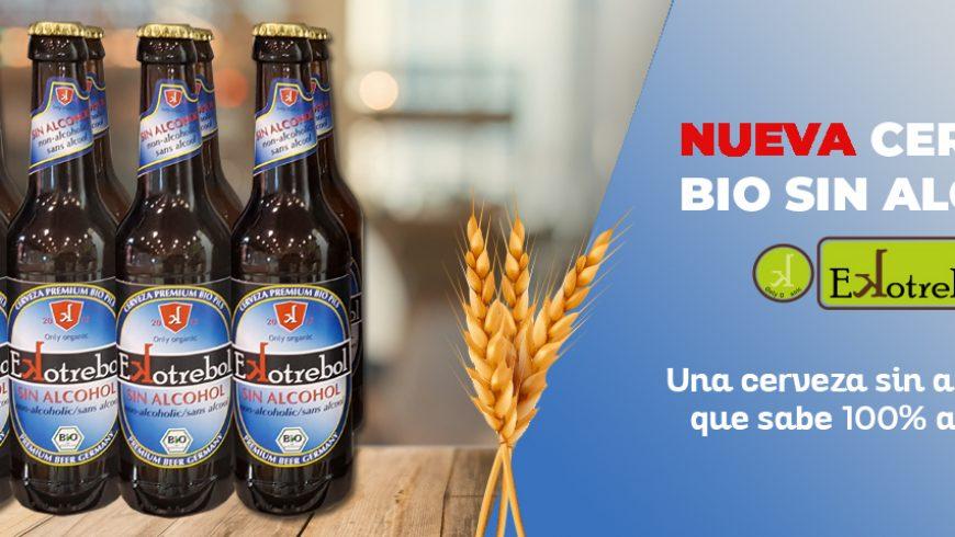 Cerveza Sin Alcohol Ecológica Ekotrebol