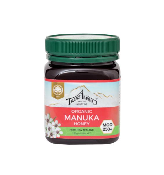 Miel Bio de Manuka 250+ de 250g