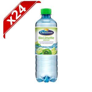 agua con gas y lima 24 unidades bio