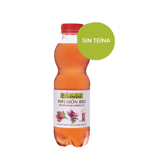 Ice Tea Bio Escaramujo Hibiscus