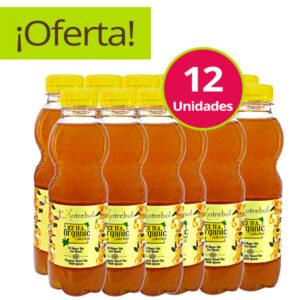 Organic Ice Tea Negro Y Limón