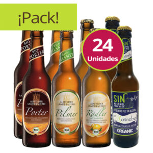 pack degustación cervezas ecológicas