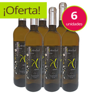 Vino Bio Vegano Blanco Ekotrebol