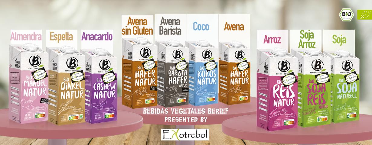 bebidas vegetales bio