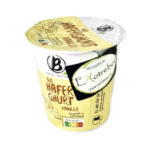 Yogur Bio Avena Vainilla Berief By Ekotrebol