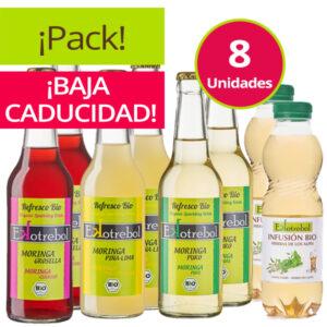 Pack Refrescos Moringa Mas Infusiones Ecológicas